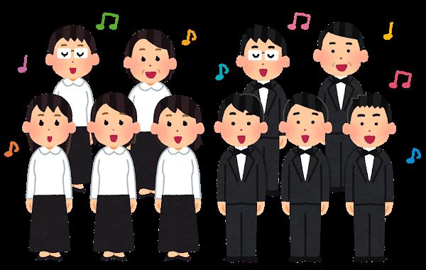 合唱・ゴスペル・楽団のリハーサル